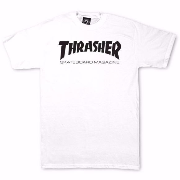Trasher Other - White Trasher shirt